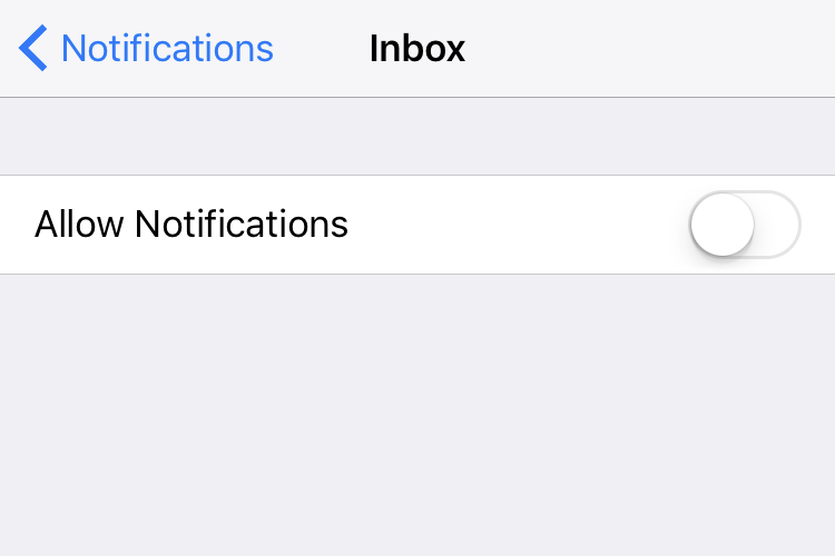 email system notifications